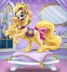 blondie mascota de rapunzel princesa disney
