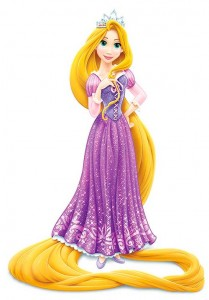 Rapunzel princesa de disney