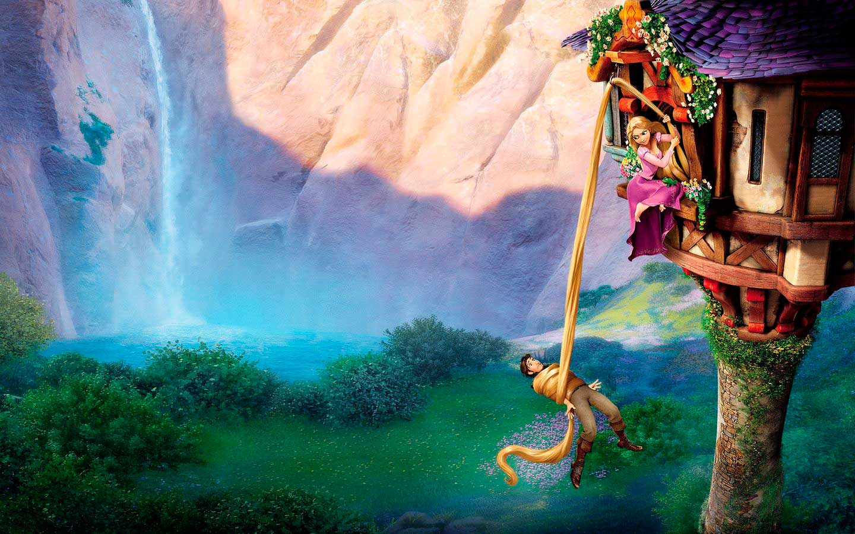 Rapunzel princesa de disney - Las princesas de disney