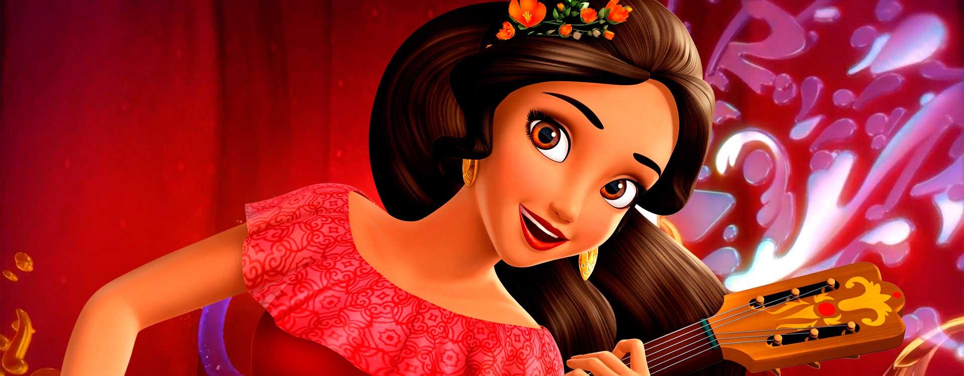 Elena de Avalor princesa de disney - Las princesas de disney