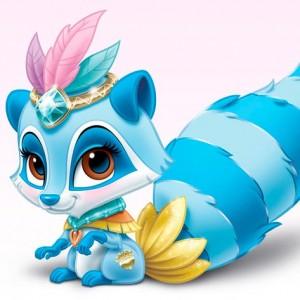 windflower-mapache-mascota-princesa-de-disney-pocahontas